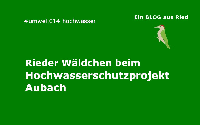 Hochwasserschutzprojekt Aubach