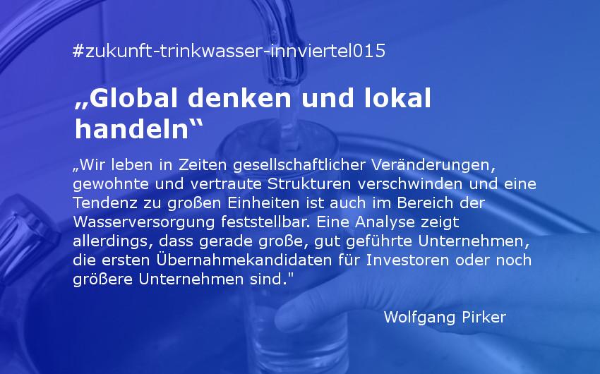 """""""Global denken und lokal handeln"""""""